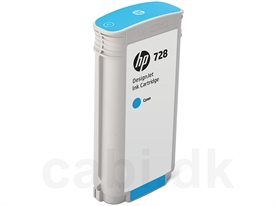 HP No. 728 DesignJet Ink Cartridge F9J67A