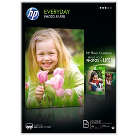 HP Everyday Foto Inkjet Papir Q2510A