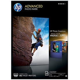 HP Advanced Glossy Photo Inkjet Papir Q5456A